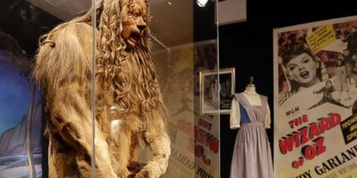 The Cowardly Lion costume from 'Wizard of Oz' sells for $3 million