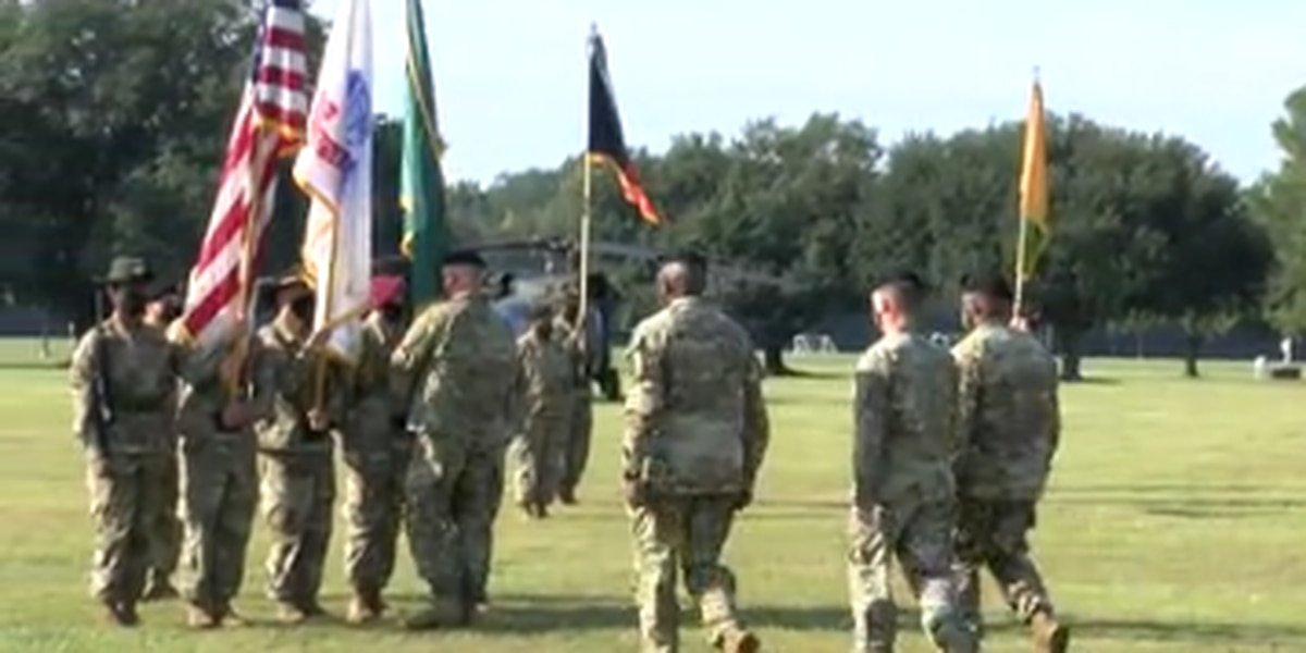 Ft. Benning holds change of responsibility ceremony