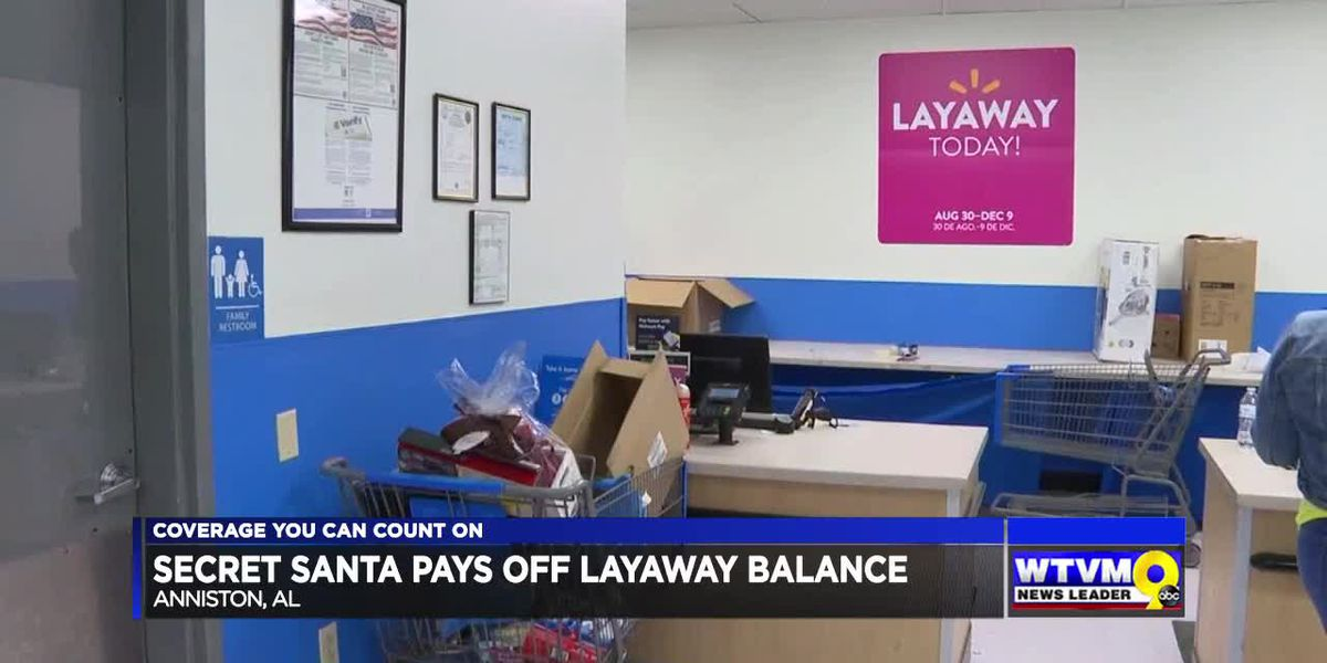 Power of Goodwill: Alabama Secret Santa pays off layaway at Walmart