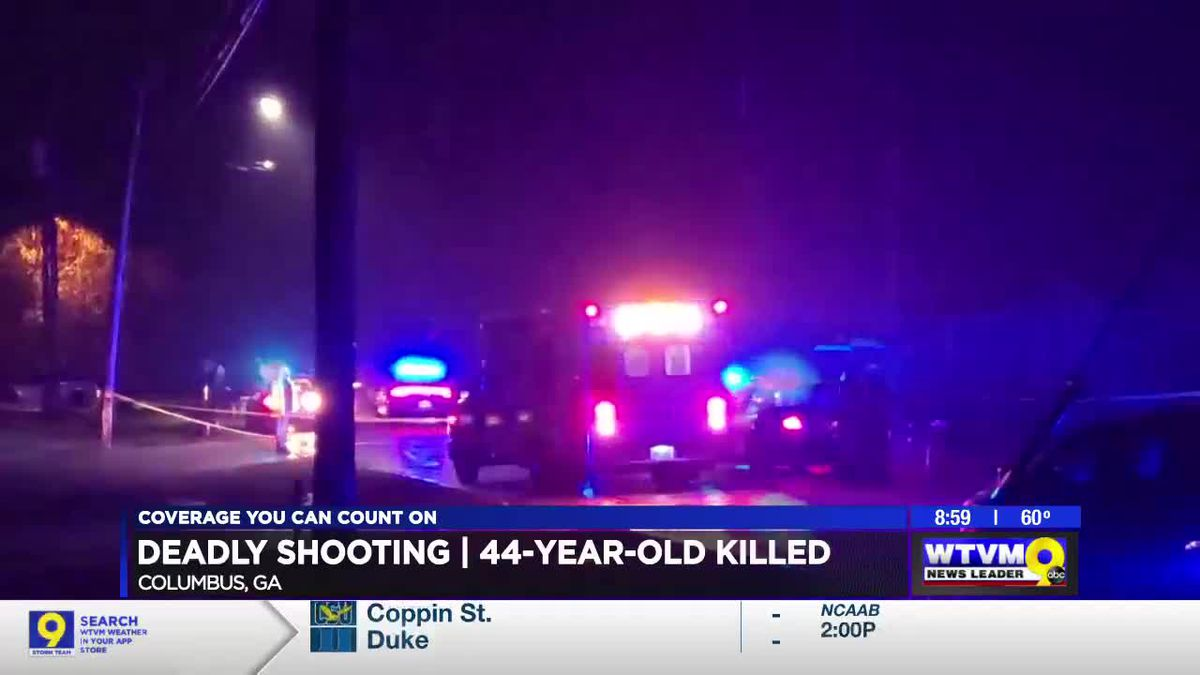 Columbus man dead after late night shooting on Enoch Dr.