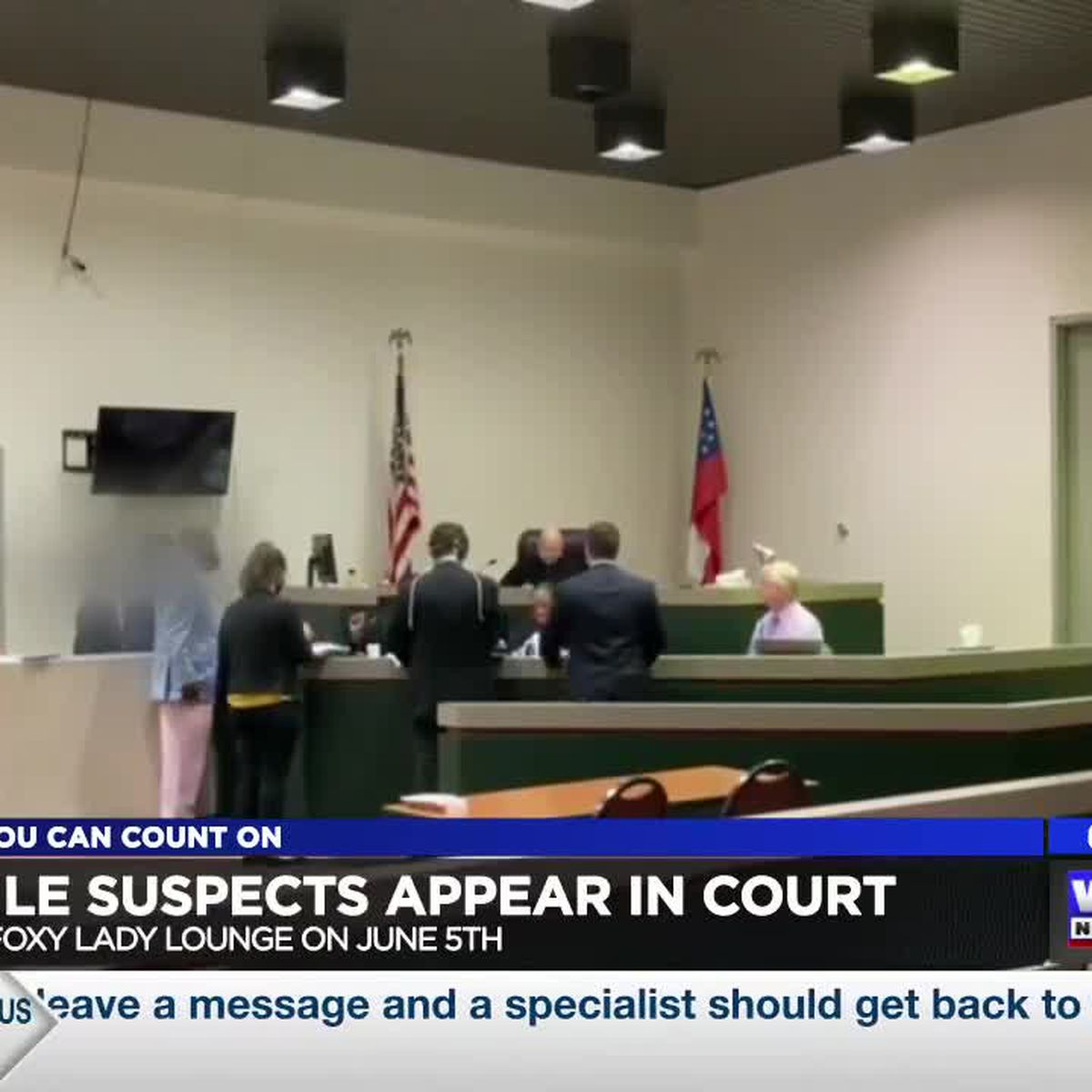 Two teens charged with murder at Foxy Lady lounge in Columbus make court appearance