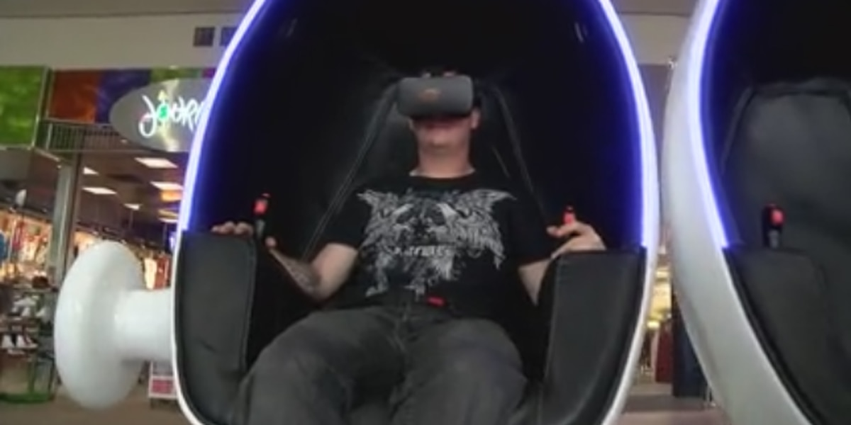 Virtual experience ride opens at Peachtree Mall in Columbus