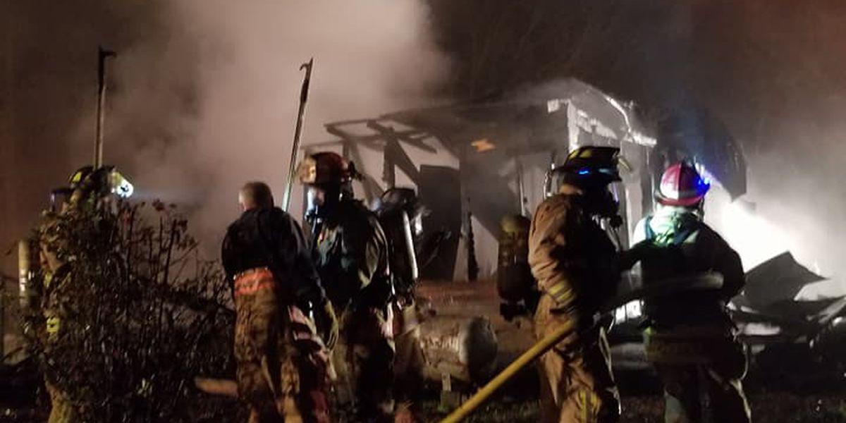 Cataula family loses home to Sunday night fire
