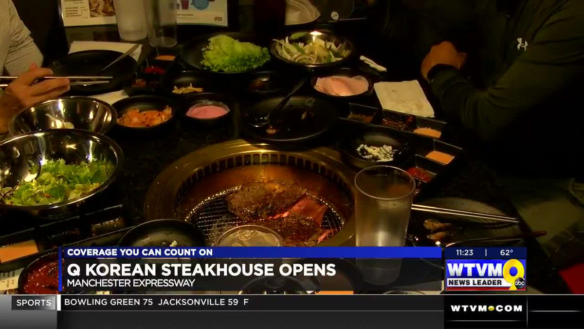 New Korean Barbecue Restaurant Opens On Manchester Expy