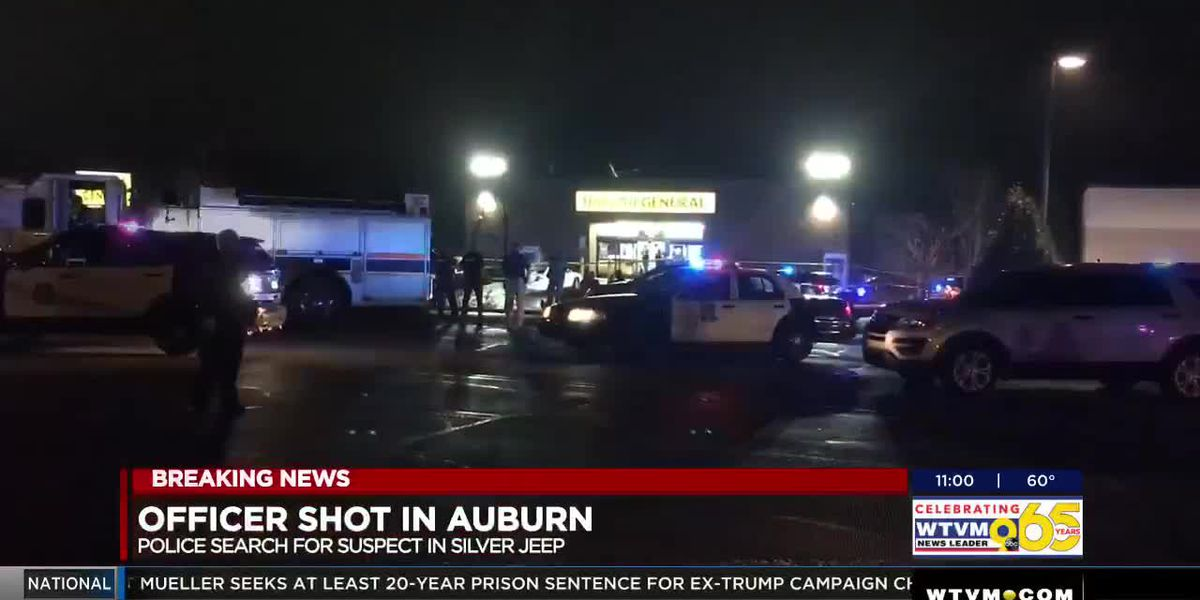 UPDATE: Man suspected of shooting Auburn police officer dies in apartment fire