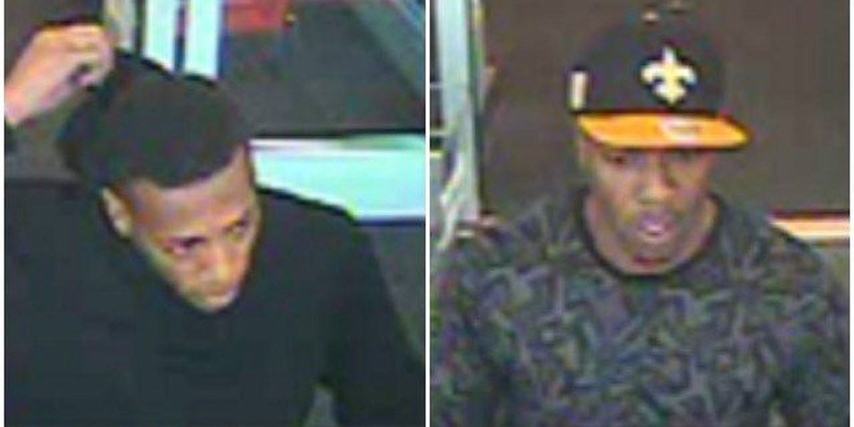 PHOTOS: OPD searching for 2 suspects in counterfeit check scam