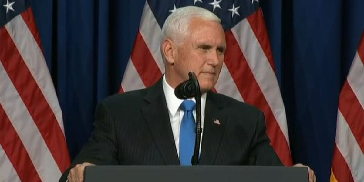 Vice President Pence in Savannah Friday for runoff campaign rally