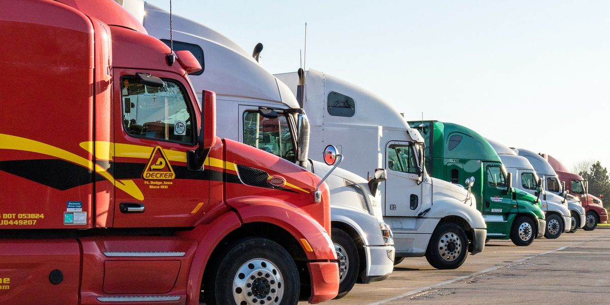Despite COVID-19 truck drivers keep on rolling