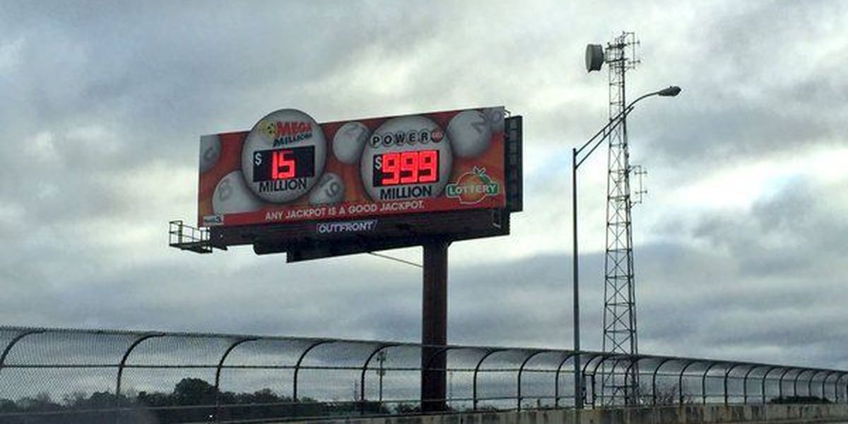 PHOTO: Georgia Lottery knows signs can't handle $1.4 billion jackpot