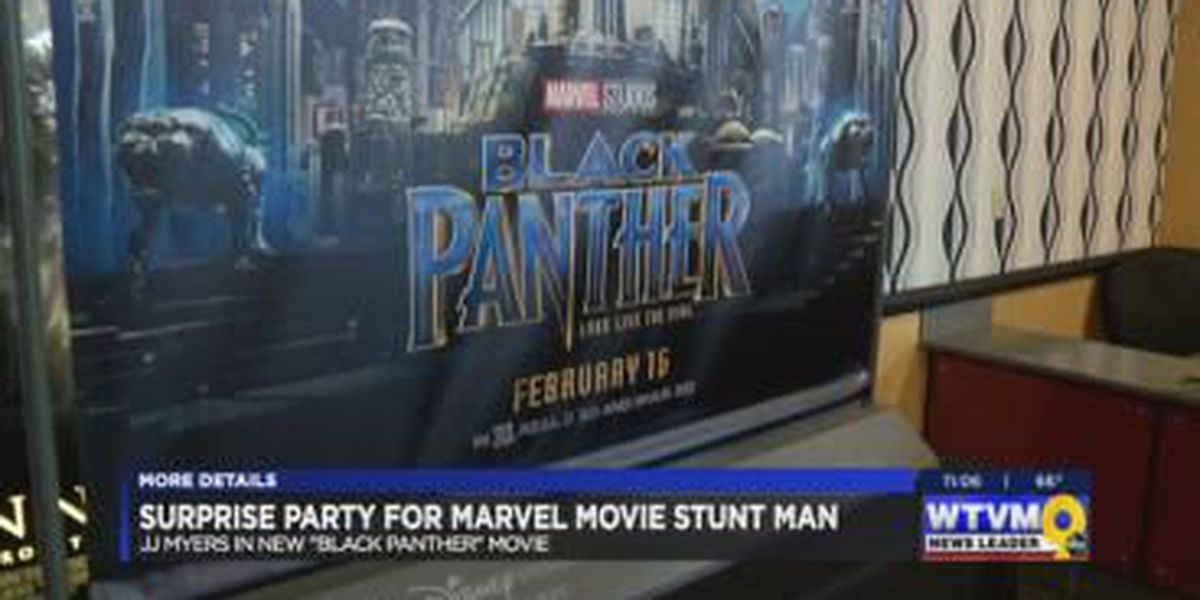 Columbus man lands role in 'Black Panther' movie