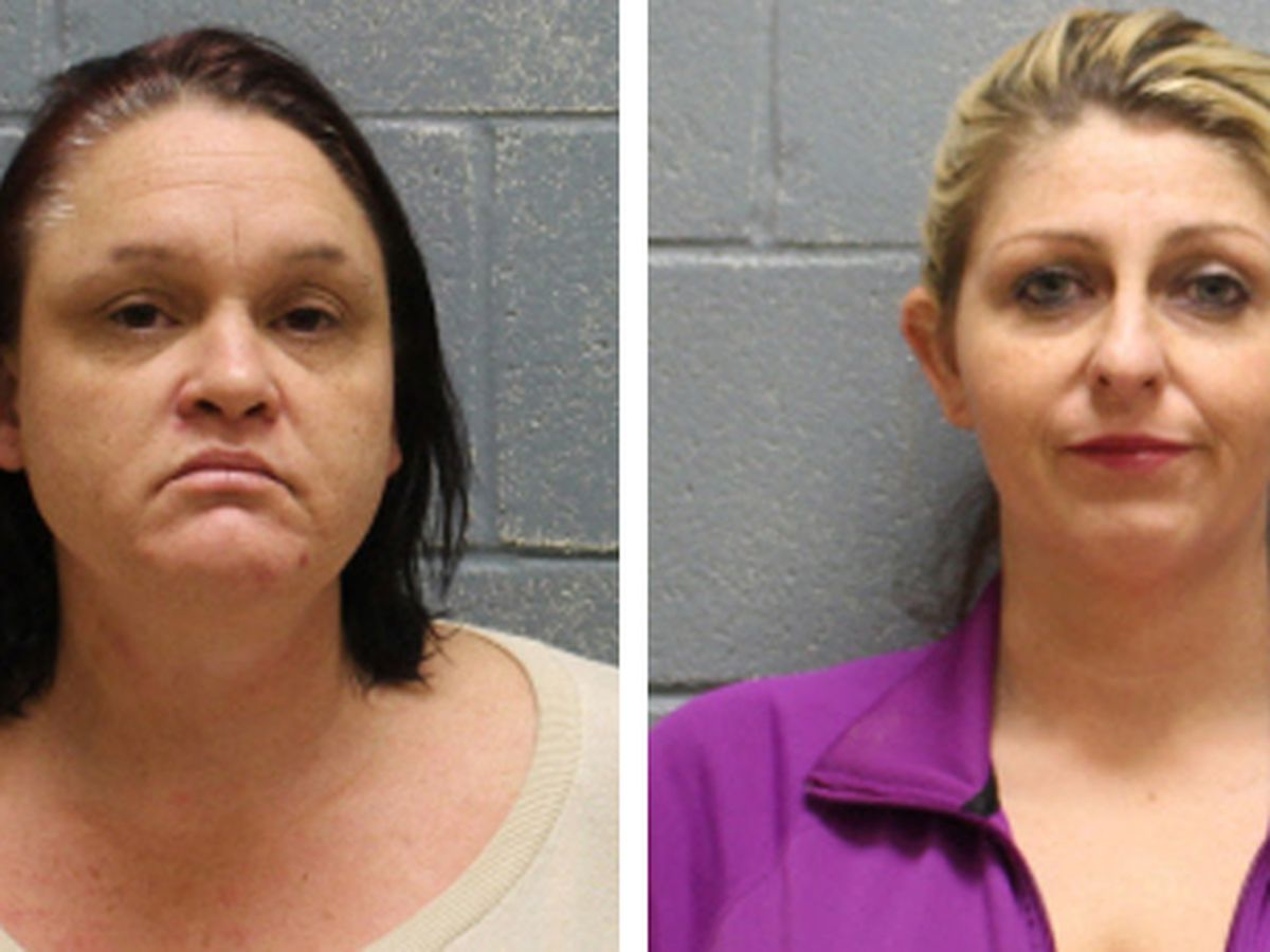 2 women charged with drug trafficking in Lee County