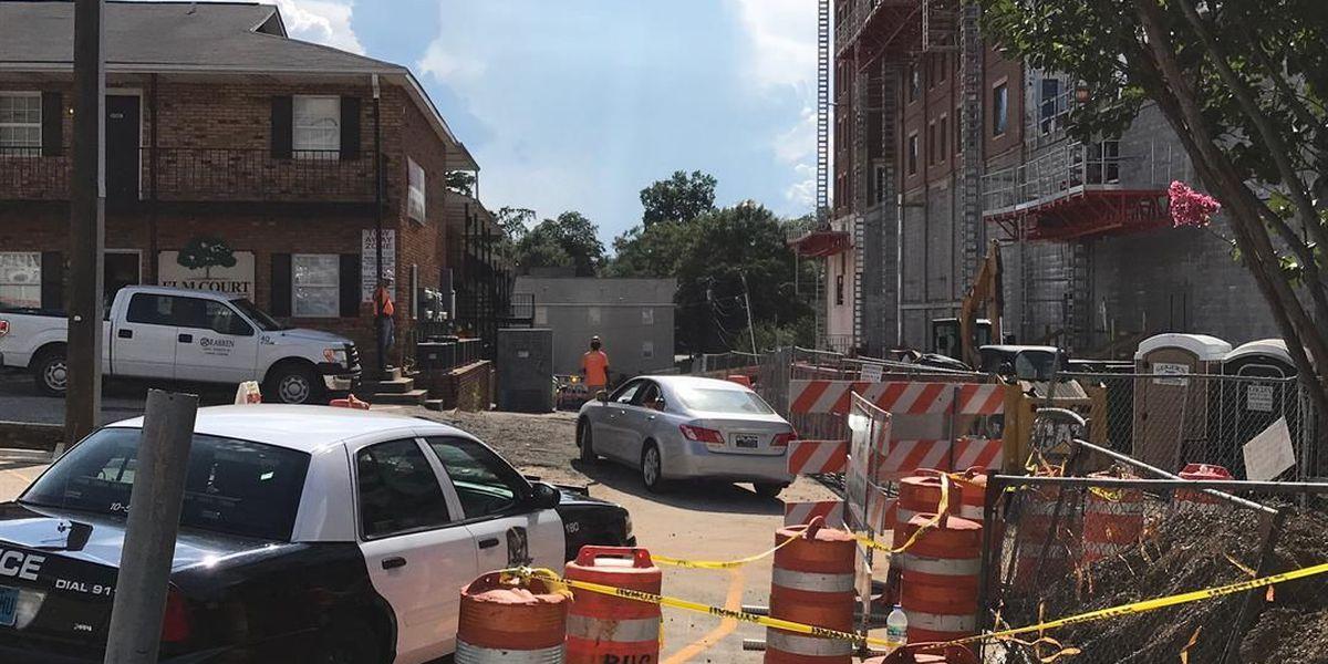Auburn construction worker falls from platform