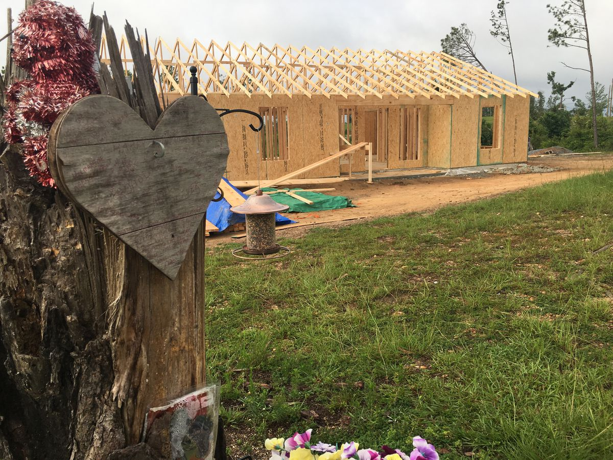 WATCH: Woman who lost husband, home in Lee Co. tornadoes receives new home two years later