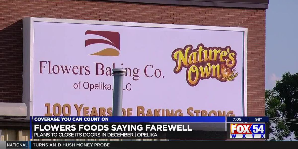 Flowers Baking Co. in Opelika permanently closing; efforts underway to help employees find jobs