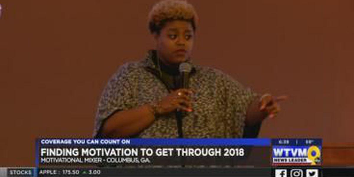 Former 'Love and Hip-Hop Atlanta' star keynotes motivational mixer