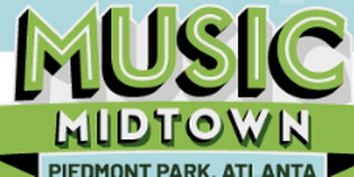 Atlanta's Music Midtown concert lineup has been announced