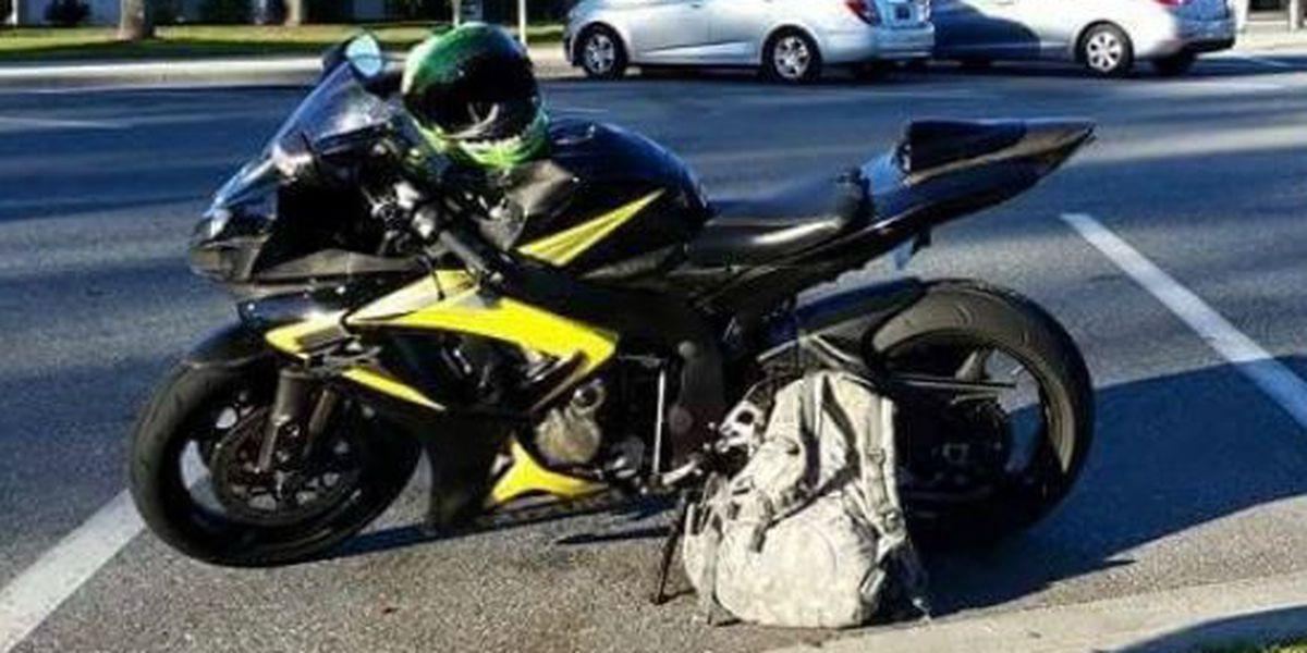 Ft. Benning soldier's motorcycle stolen overnight
