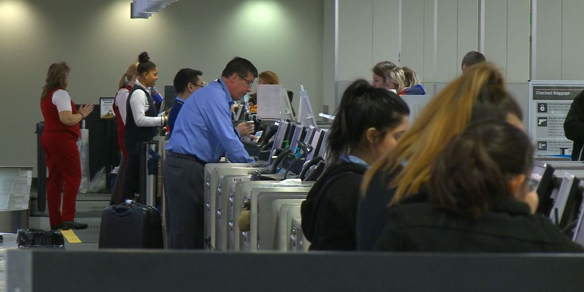 Air travel more stressful than going to work, survey says