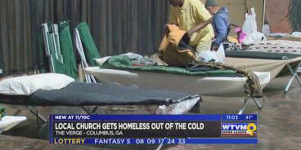 The Verge Church in Columbus opens as warming shelter for homeless