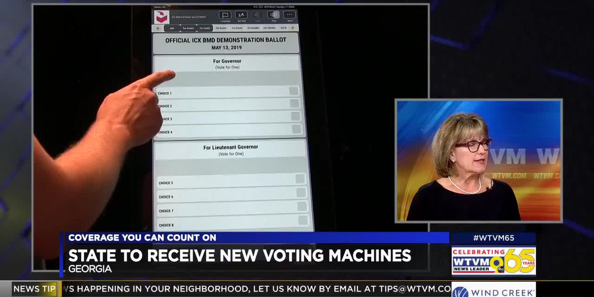 Muscogee Co. director of Elections and Registration discusses new voting machines in Ga.