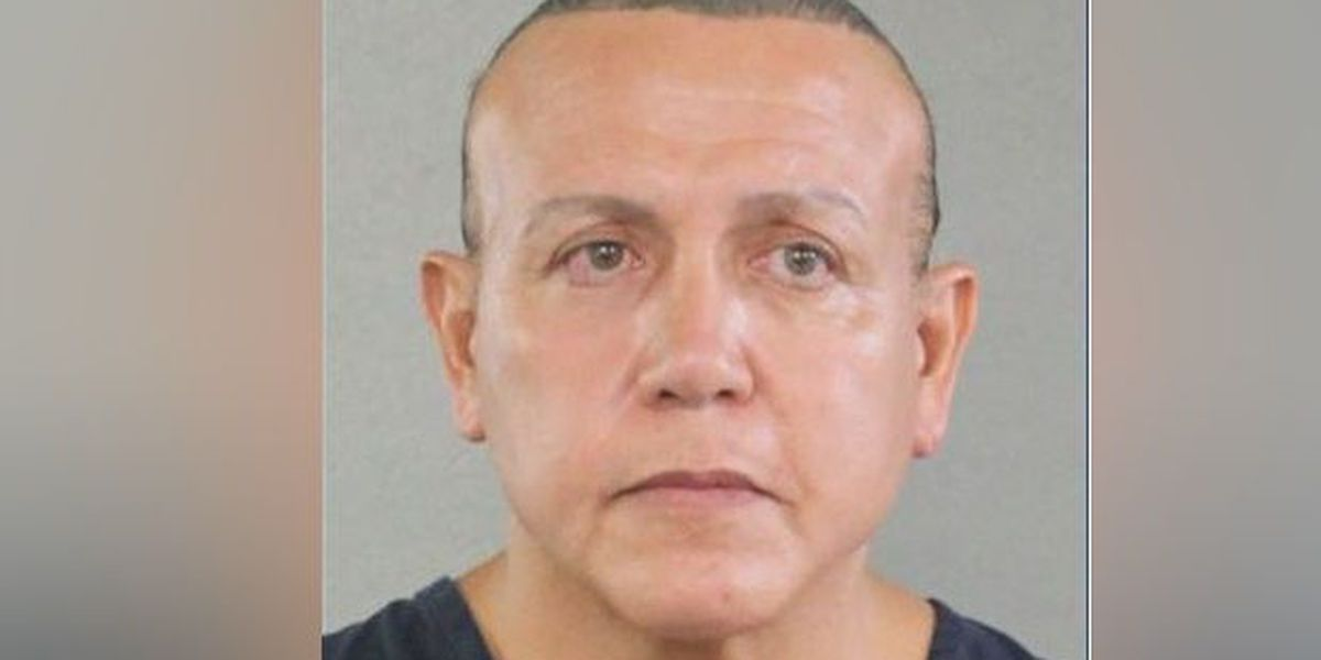 Cesar Sayoc charged with sending package bombs to leading liberals, could face life in prison