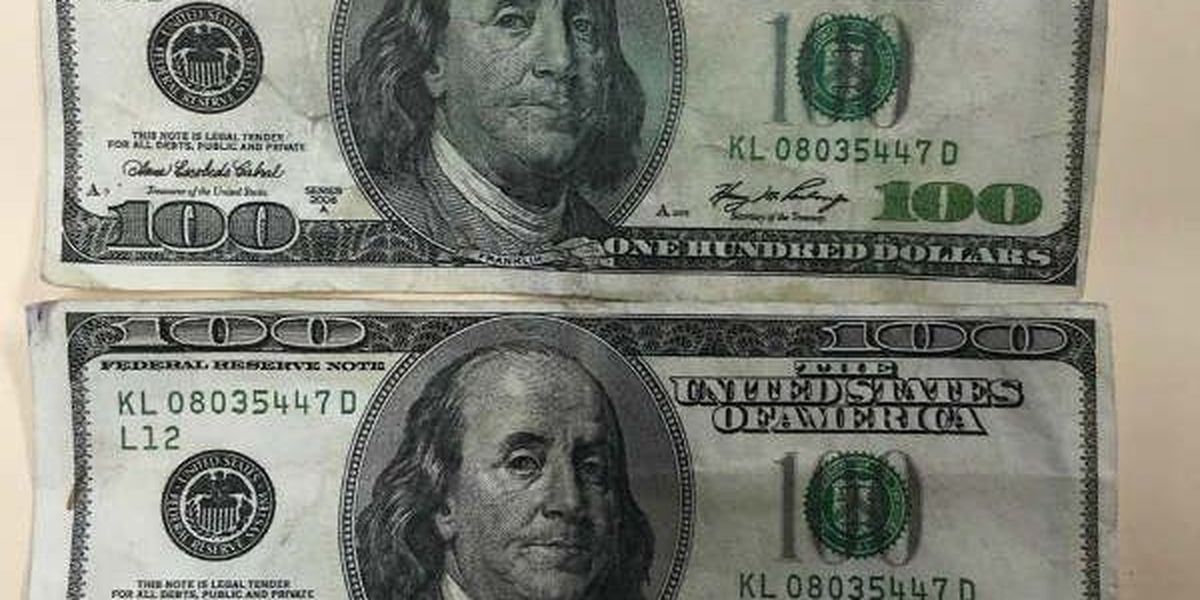 SLIDESHOW: Eufaula police warn residents about counterfeit money