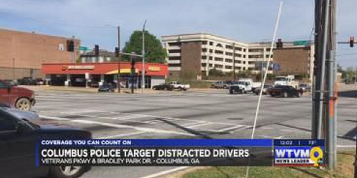 CPD targets distracted drivers on Veterans Pkwy, Bradley Park; 100+ citations given out