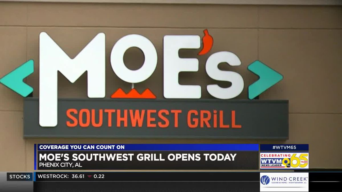 New Moe's Southwest Grill opens in Phenix City