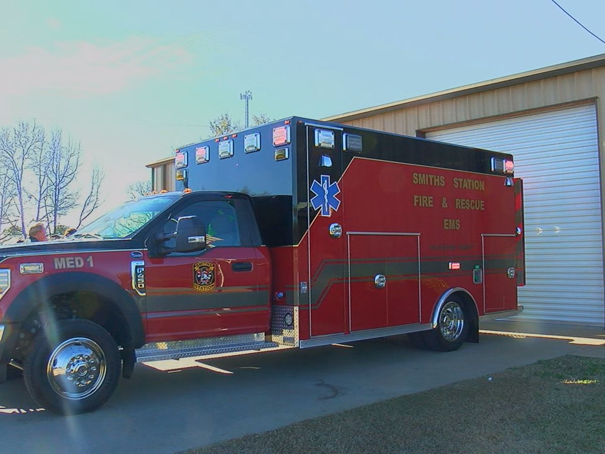 Smiths Station Fire & Rescue announces purchase of brand-new ambulance