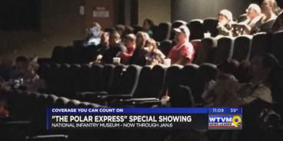 NIM partners with Fort Benning for special showing of 'Polar Express'