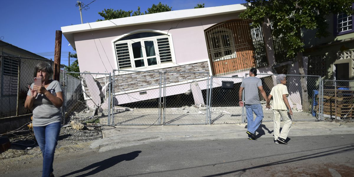 5.8-magnitude quake strikes Puerto Rico, damaging homes