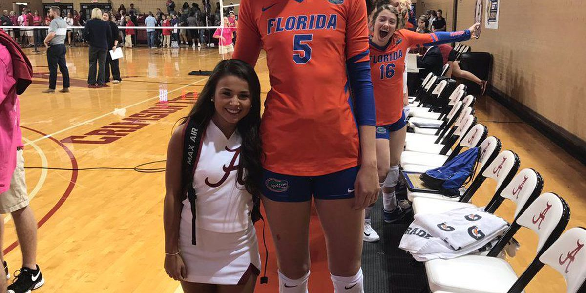 College athletes' height difference rocks the internet