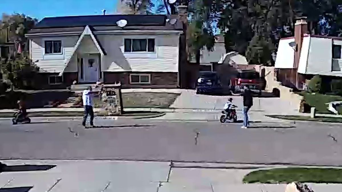 Utah man accused of hitting children, shooting at their father over mini motorcycle noise