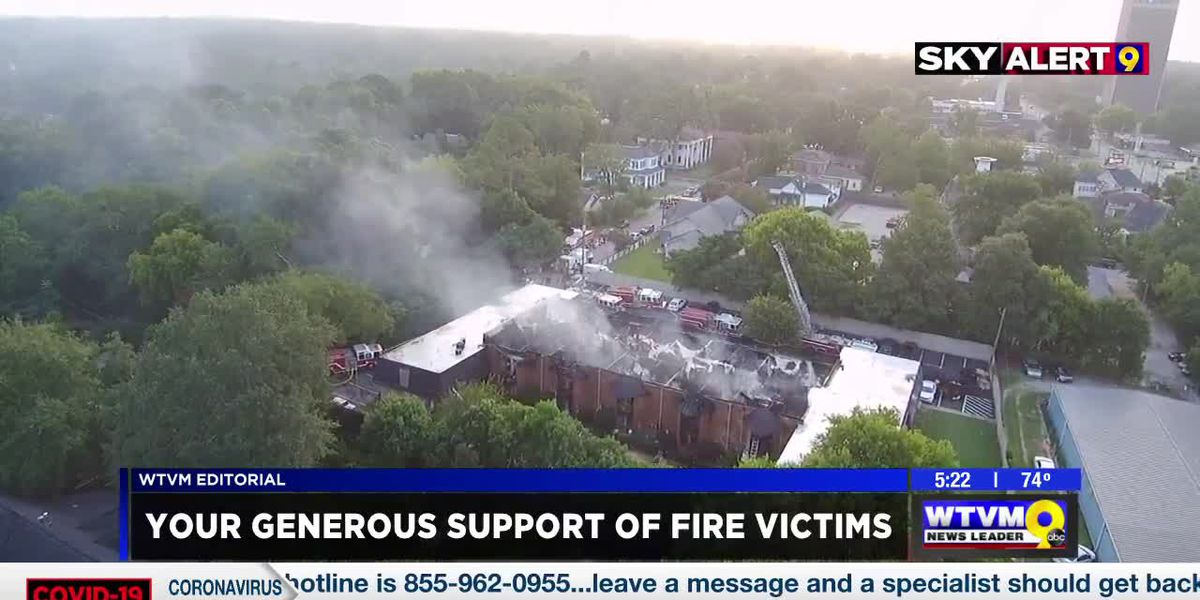 WTVM Editorial 8-21-20: Your generous support of fire victims