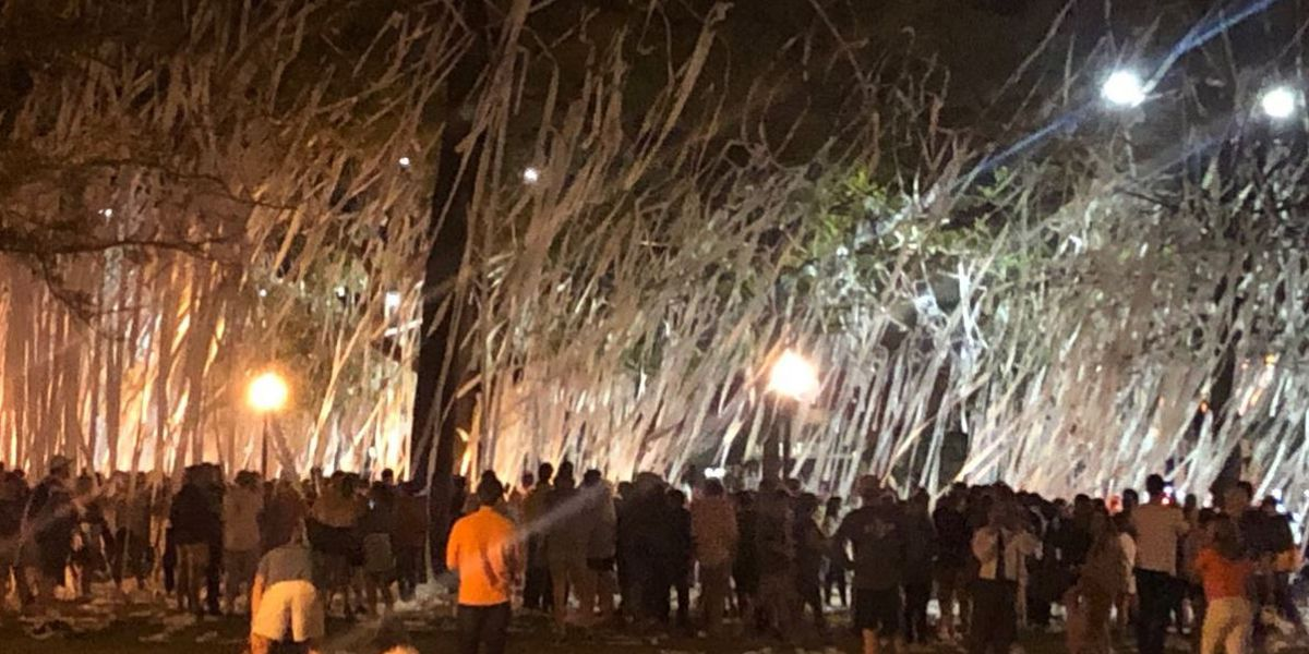 Auburn fans enjoying tournament run