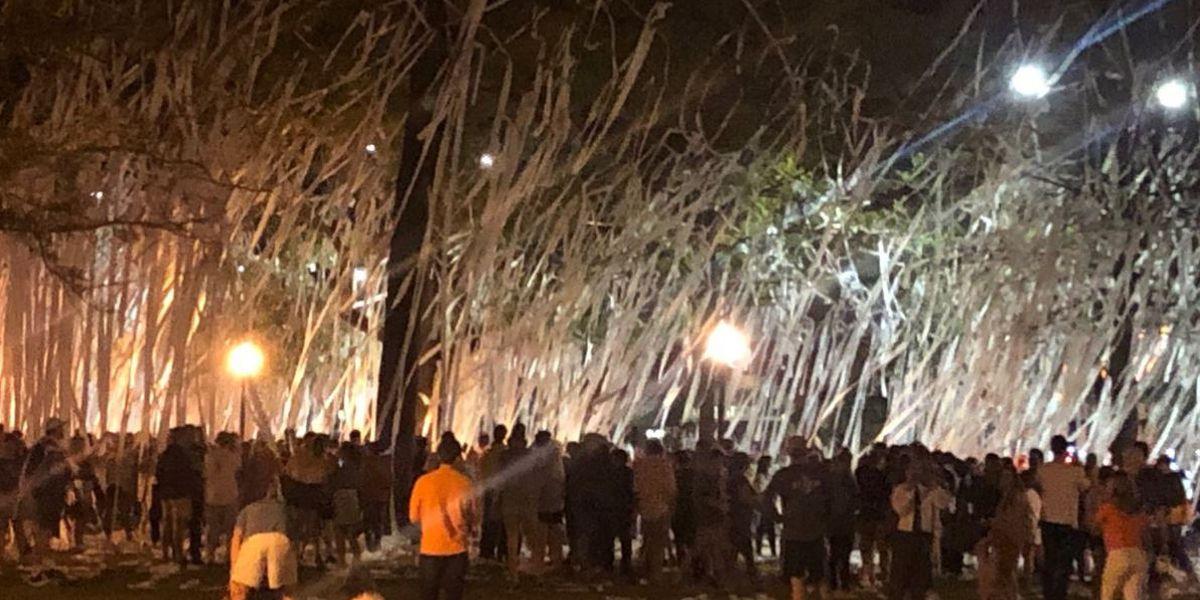 Auburn fans enjoying tournament run