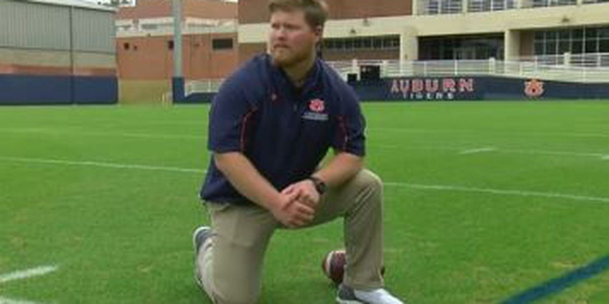 Auburn University student wins trip to the Super Bowl; training with NFL grounds crew