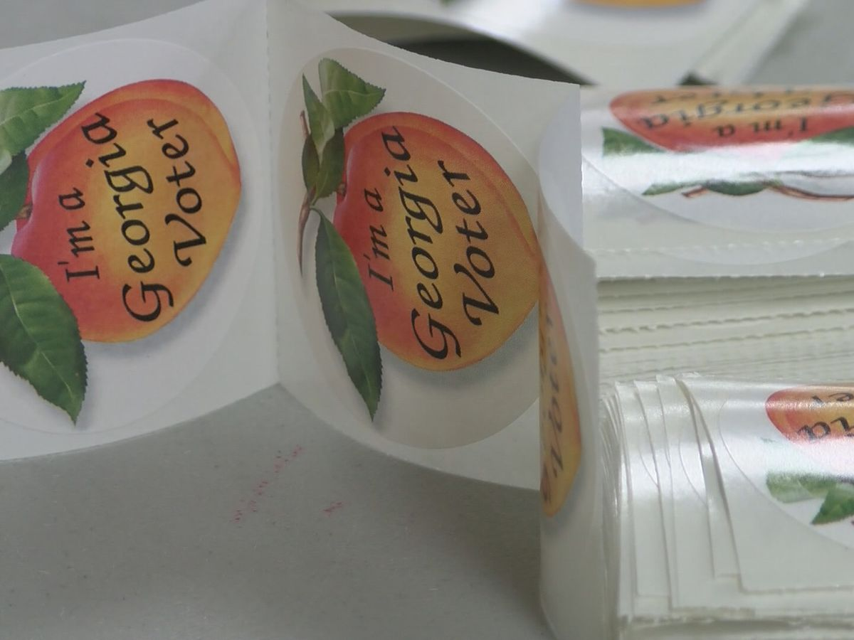 Runoff elections underway in Georgia