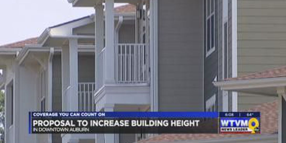 Auburn City Planning Commission proposes increase in building height