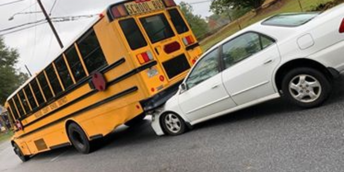 Muscogee Co. school bus involved in accident near Easy St. and Double Churches Rd.