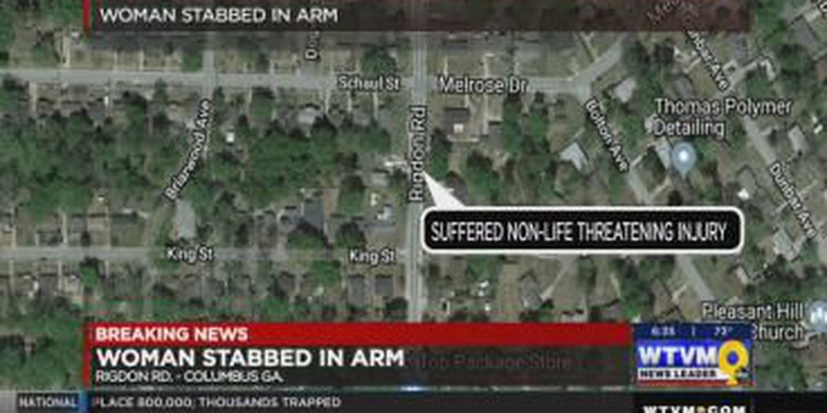 VIDEO: Woman stabbed overnight on Rigdon Rd. in Columbus