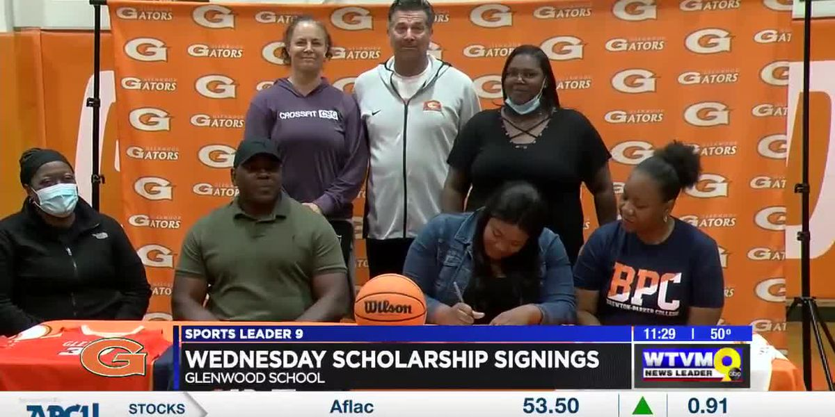 Four area athletes sign for scholarships