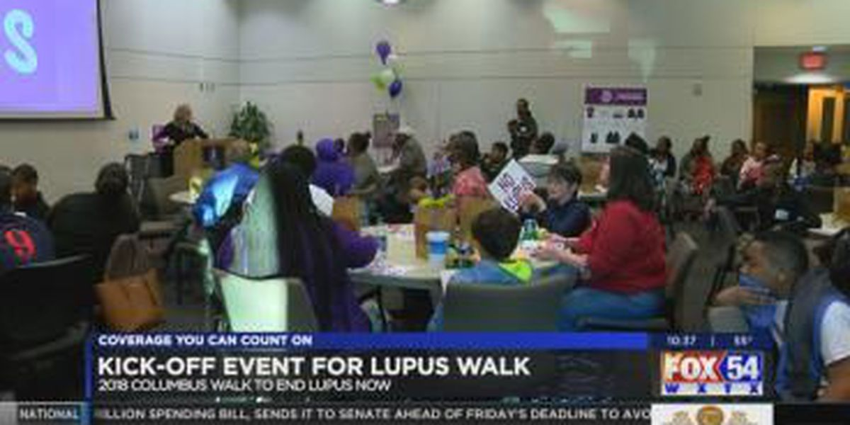 Lupus Foundation's Georgia Chapter kicks off Columbus Walk