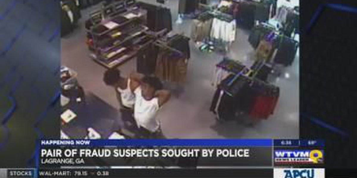 LaGrange police search for 2 men suspected of credit card fraud