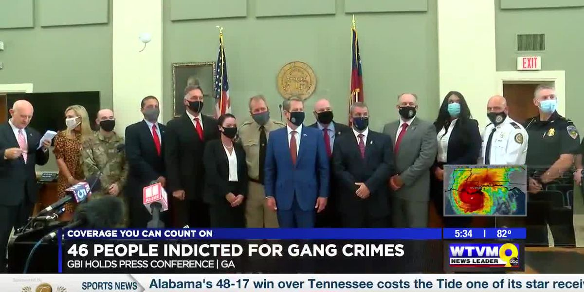 GBI operation nets 46 indictments for gang crimes