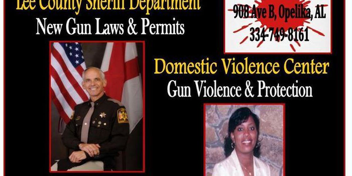 Stop the Violence Public forum in Opelika on Tuesday