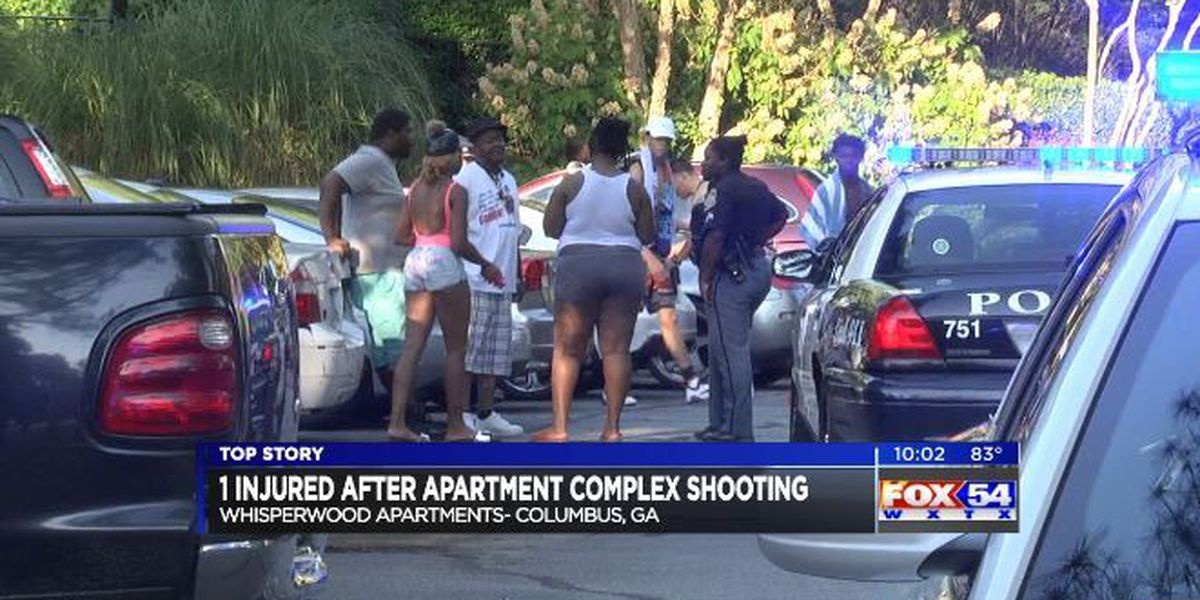One injured after shooting at Whisperwood Apts.