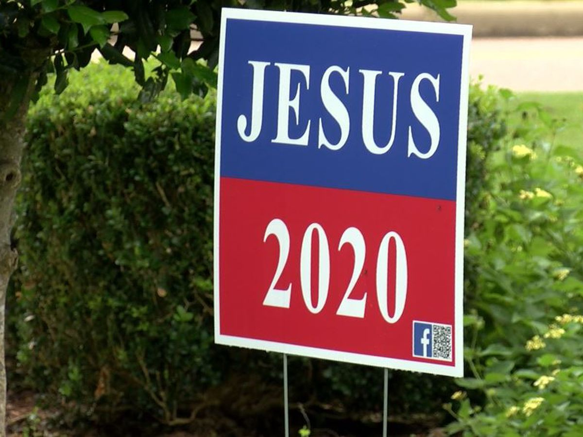 Thousands of signs printed as Jesus 2020 campaign grows