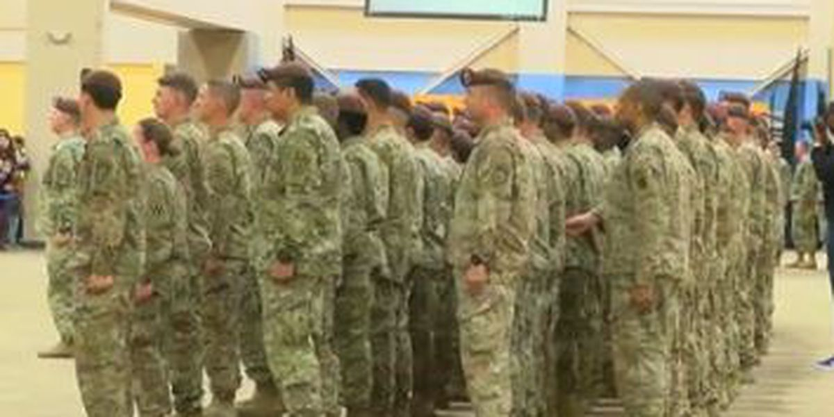 Family and friends welcome Ft. Benning soldiers back home from deployment