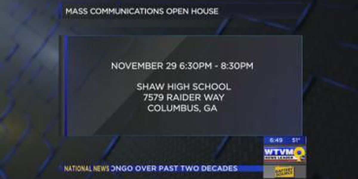 Shaw High School hosts Mass Communication open house
